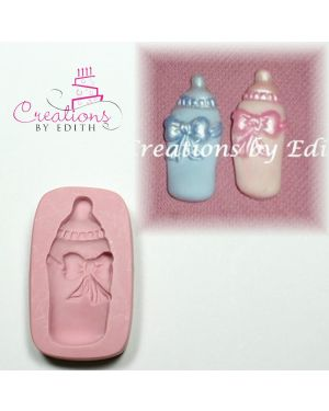 Baby bottle with bow