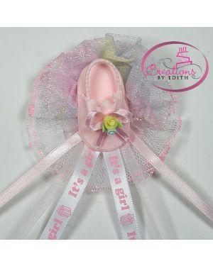 Girl sandal corsage