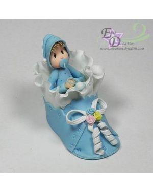 Baby in shoe