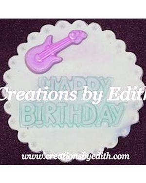 Happy Birthday embosser