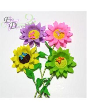 Flower pick double/4