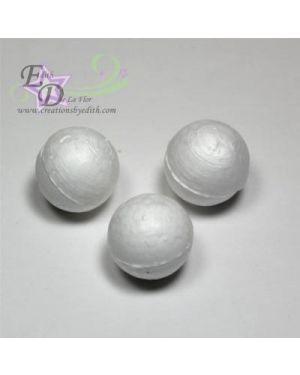 "6/8"" solid polystyrene balls"