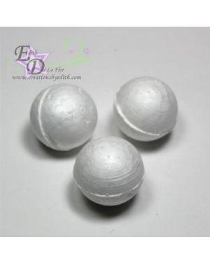 "7/8"" solid polystyrene balls"