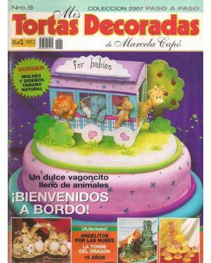 Cake decorating magazine in Spanish
