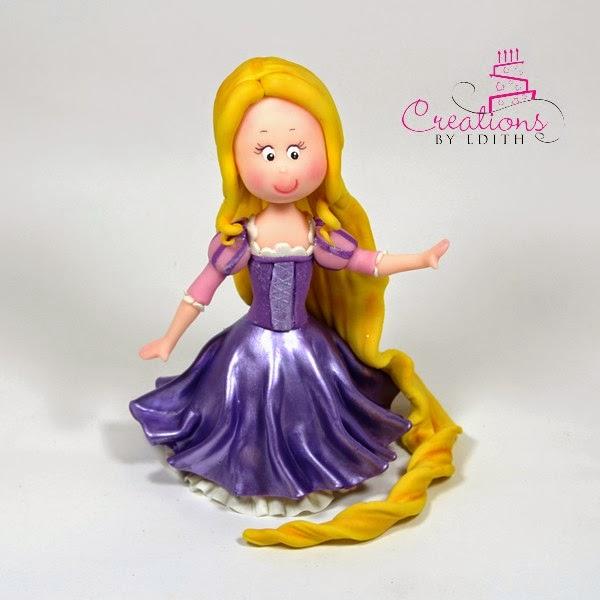 Princess Rapunzel video class./ Video clase de Princesa Rapunzel