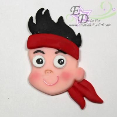 Jake Pirate Face Pirates Never Land Cutter Birthday Cutters