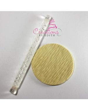 """6"""" textured rolling pin #36"""
