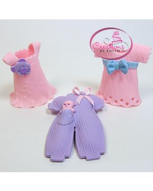 Girl dresses, set of 3