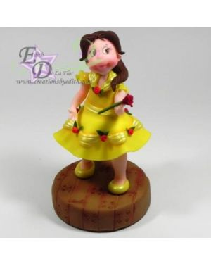 Belle princess inspired, step by step videos