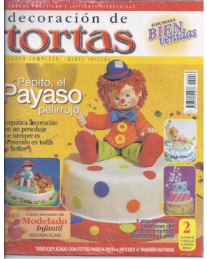 Cake decorating magazine in Spanish