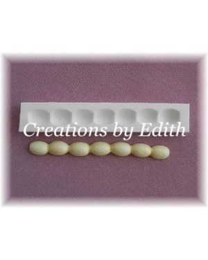 Long faceted beads