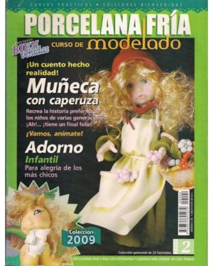 Cold porcelain magazine in Spanish