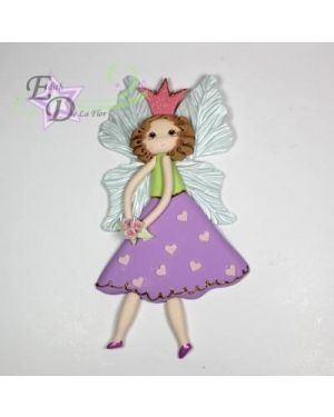 Fairy w/skirt plaque