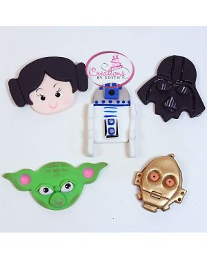 Star Wars face favors