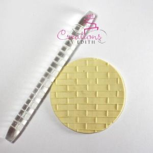 """6"""" textured rolling pin #35"""