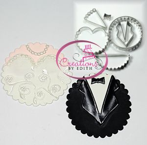 Bride and groom cupcakes_clearance