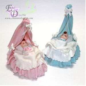 Md. Bassinet with baby