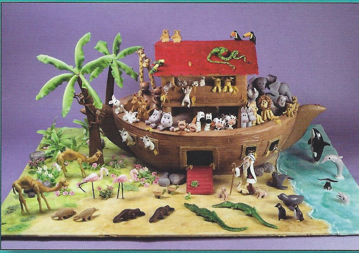 Noah's ark display